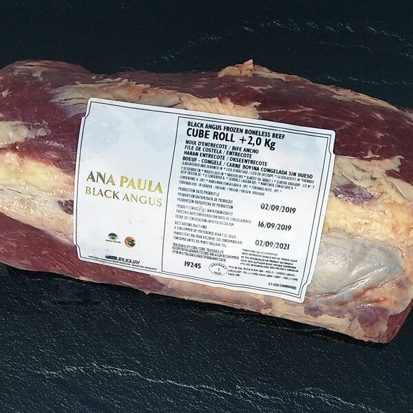 Cube roll ( Ribeye) Black Angus Uruguay lomo alto chuletón tienda carne online a domicilio
