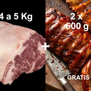Oferta Entrecot Lomo Alto Vaca Selección + Costillas Bourbon