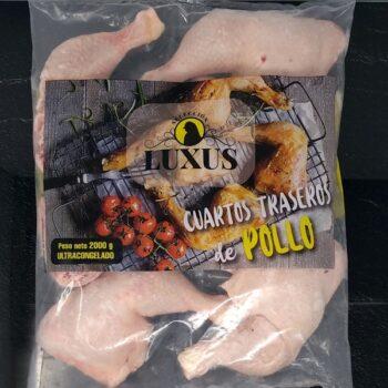 Cuartos traseros de pollo tienda carne online a domicilio