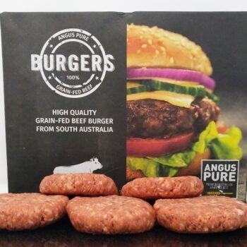 Hamburguesas Black Angus vacuno ternera vaca tienda carne online a domicilio