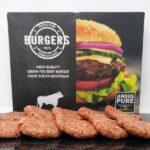 Hamburguesas Black Angus australiano vacuno ternera vaca tienda carne online a domicilio